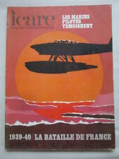 ICARE AVIATION FRANCAISE 60 1939-1940 BATAILLE DE FRANCE TOME 5 AERONAVALE