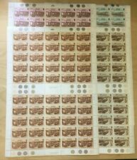 SPECIAL LOT Bermuda 1987 510-3 - Railways - 50 Sets of 4v - MNH Sheets