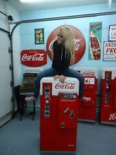 Coca Cola  Coke Machine Vendo 56 Pro Restored Best in USA 81 39 44 door-to-door