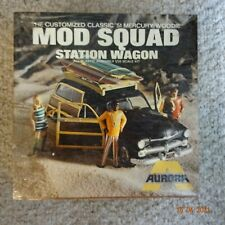 Aurora Mod Squad Station Wagon '51 Mercury Woodie Model Kit 583-250 - Sealed