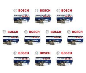 Set of 10 Volkswagen Rabbit Bosch Spark Plugs 7905 7905