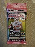 2020 Panini Mosaic Football Value Cello Pack 3 MOSAIC CAMO PINK PARALLELS🔥🏈💥