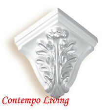 """5"""" Projection 3-3/4"""" H Pu Crown Moulding Outside corner"""