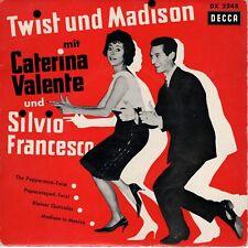 7inch CATERINA VALENTE und SILVIO FRANCESCO twist und Madison GERMAN EP  (S1413)