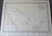 Oceania Map.1797. La Perouse