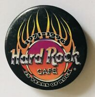 Hard Rock Cafe 1996 Souvenir 25 Years Of Rock Pin Badge Rare Vintage (C11)