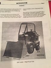 International Hough H 25b Pay Loader Service Manual Photocopy Of Original Manual