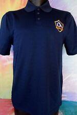Los Angeles Galaxy Adidas Climalite  Navy Blue Polo Shirt Size Small
