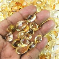 Wholesale Lot of Natural Earth Mined Brazilian Citrine Loose Faceted Gemstone
