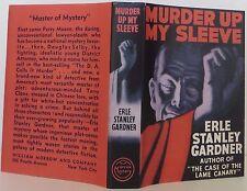 ERLE STANLEY GARDNER Murder Up My Sleeve FIRST EDITION