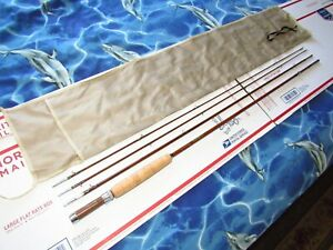 """1940s Horrocks & Ibbotson H & I """"CASCADE"""" Bamboo Fly Rod READY TO FISH"""