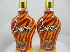 SNOOKI HOT SKINNY SIZZLING DARK TAN MAXIMIZER TANNING LOTION by Supre - 2 PACK