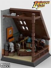 **SALE** Lego Indiana Jones MOC Attic Display PDF Instructions Only