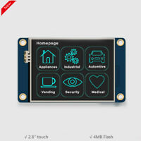 Nextion 2.8'' HMI TFT Touch Display LCD Module 4MB for Arduino Raspberry Pi