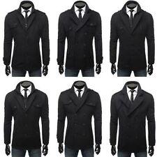 Abrigos y chaquetas de hombre negro