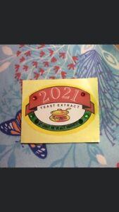 Marmite 2021 Homemade Label Jar Sticker Collectable