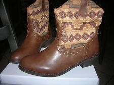 38 bottes bottines NEUVES santiags chaussures femme fille val 90 euros lot poss