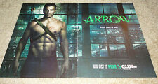95pc Arrow clippings/articles Stephen Amell Katie Cassidy