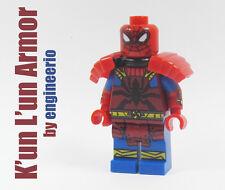 LEGO Custom - Kun Lun Armor Spiderman - Marvel Super heroes mini figure Samurai