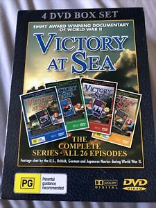 Victory At Sea 4 DVD Box Set Complete Series All 26 Episodes Like New