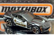 2018 Matchbox #62 MBX Rescue Corvette Stingray Police