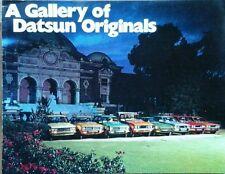 Datsun All Models USA Market Sales Brochure - October 1972  inc 240Z