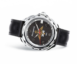 Vostok Komandirskie 2414/211928 Watch 17 Jewels Mechanical Mens Soviet Watch