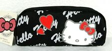 Trousse fourre tout Hello Kitty noir, blanc et rouge