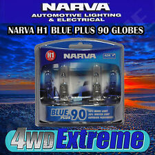 NARVA H1 BLUE PLUS 90 HALOGEN HEADLAMP LIGHT BULBS GLOBES 48530BL2 PARKER T10