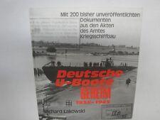 Deutsche U-Boote Geheim 1935-1945