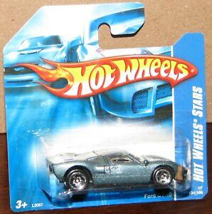 Hot Wheels 2007 Hot Wheels Stars #134 FORD GT-40 Gunmetal on Short Card