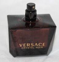 Crystal Noir Versace Eau De Toilette EDT Spray 3 oz 90 ML 99% FULL