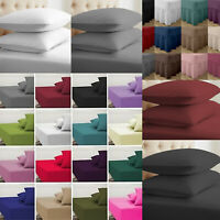 Bed Skirt Valance Sheet OR Fitted Sheet Single Double King Size OR Pillow Case