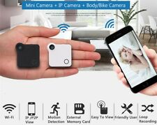 TINY WIRELESS IP CAMERA - Mini HD 720P WIFI Cam with Motion Sensor + 32GB Card