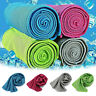 Ice Cooling Towel Pad Instant Chilly Enduring Running Jogging Yoga Gym Sports