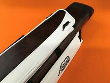 PREDATOR CUE CASE 3x5 HARD BURGUNDY / WHITE.