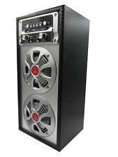 Altavoz Portátil Karaoke Con Radio FM y Batería Recargable Inalámbrico Torre