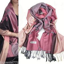 hot sell Fashion warm Soft 100%Cashmere/Pashmina Lotus Pattern Shawl/Scarf