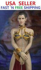 1/6  Princess Leia Organa Star Wars Slave Head Sculpt Outfit Set >IN STOCK<