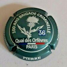 Capsule de champagne Pierre Mignon n° 91.ae turquoise métallisé