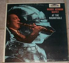WOODY HERMAN SEXTET AT THE ROUNDTABLE Vinyl LP #F9016, VERY GOOD! Vintage Record