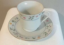 Remington Fine China Gold Rim Floral Cup And Saucer Set