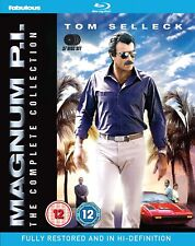 MAGNUM P.I. 1-8 1980-1988 COMPLETE Tom Selleck PI Season Series REGION B BLU-RAY