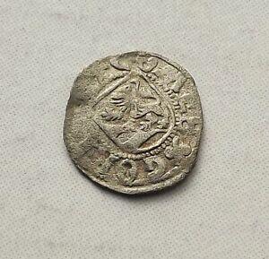 Austria Gorz Vierer Maximilian I. 1500-19 RARE  Medieval F Silver |C3781