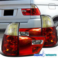 For 2000-2006 BMW X5 E53 Tail Lights Brake Lamp Red Replacement Pair