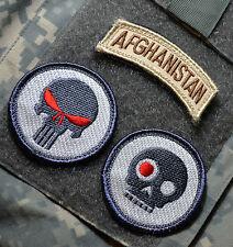 MARSOC FORCE RECON RANGERS SNIPER 3-TAB: AFGHANISTAN +PUNISHER +TERMINATOR SKULL
