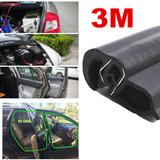 3M Draught Excluder Window Door Seal Strip Soundproof Rubber Weatherstrip Black