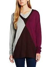 Hilfiger Denim Women's DAMIA ARGYLE  sweater  Grey/brown/violet S