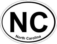 Oval (North Carolina); State Bumper Sticker
