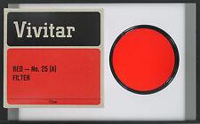Vivitar 72mm A25 Red Filter